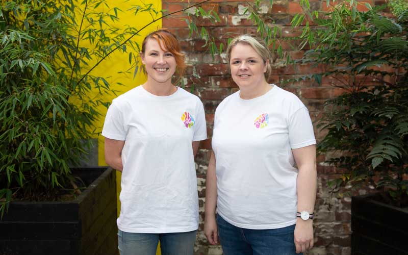 Myndr co-founders Lizzy Hodcroft and Emma Reilly