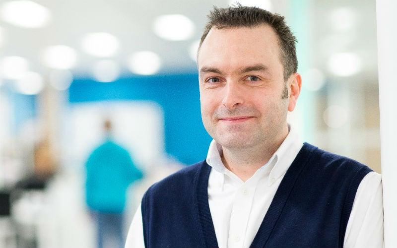 CEO Dr Chris McCullough