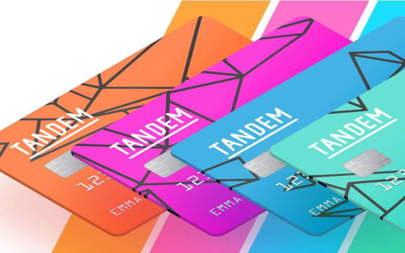 Tandem provides credit cards and savings accounts