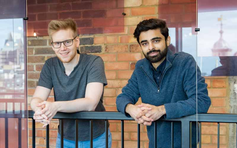 Deep Render founders Christian Besenbruch and Arsalan Zafar