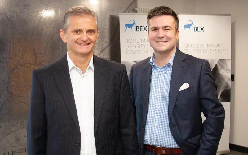 Neil Loxley of IBEX with Ian Wilson of Mercia