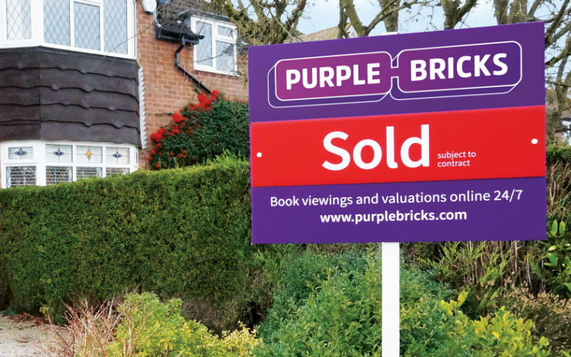 Purplebricks' share price has halved in a year