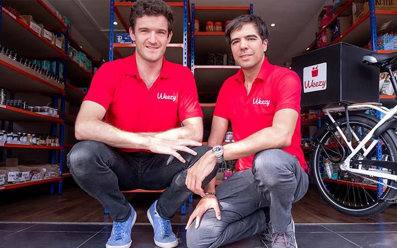 Kristof Van Beveren and Alec Dent,