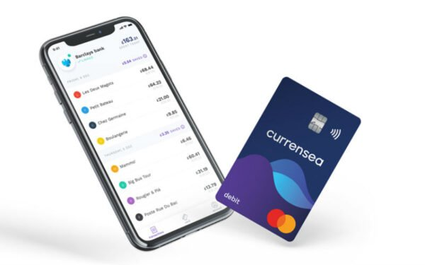 Currensea app/card