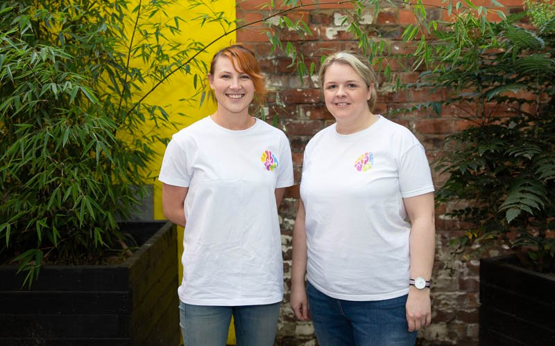 (L-R) Founders Lizzy Hodcroft & Emma Reilly