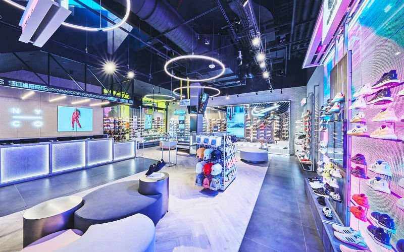 JD Sports's flagship US store in Times Square