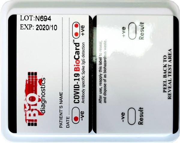 Bio-Diagnostics BioCard