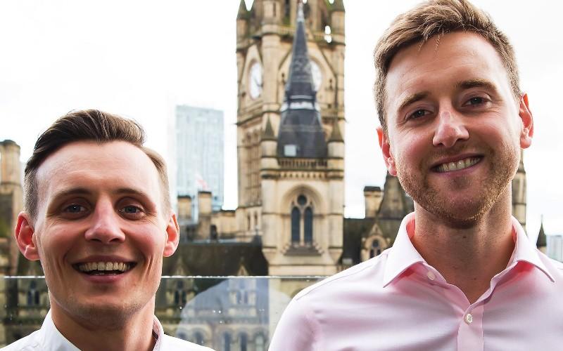 HubSolv founders Lewis Black (left) and Fraser Hamilton