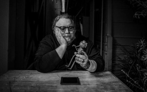 Guillermo del Toro with Pinocchio