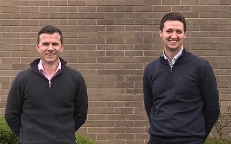 (l-r) John Davies and Matt Currie, Seneca Partners