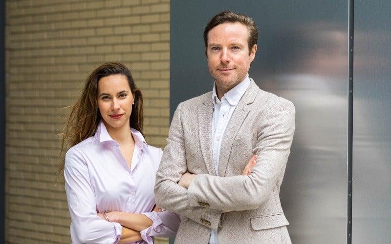 Béa Co-Founders - Tess Cosad & David O'Rourke (1)