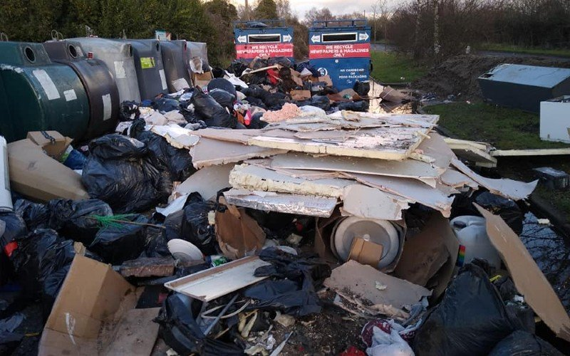 Before WasteWatch at Birchwood Road, Dartford (1)