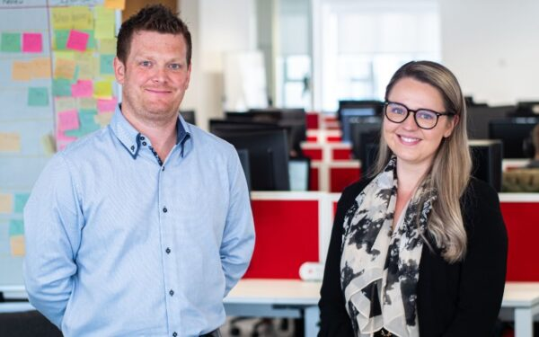 Chris Hill and Charlotte Prior, Northcoders