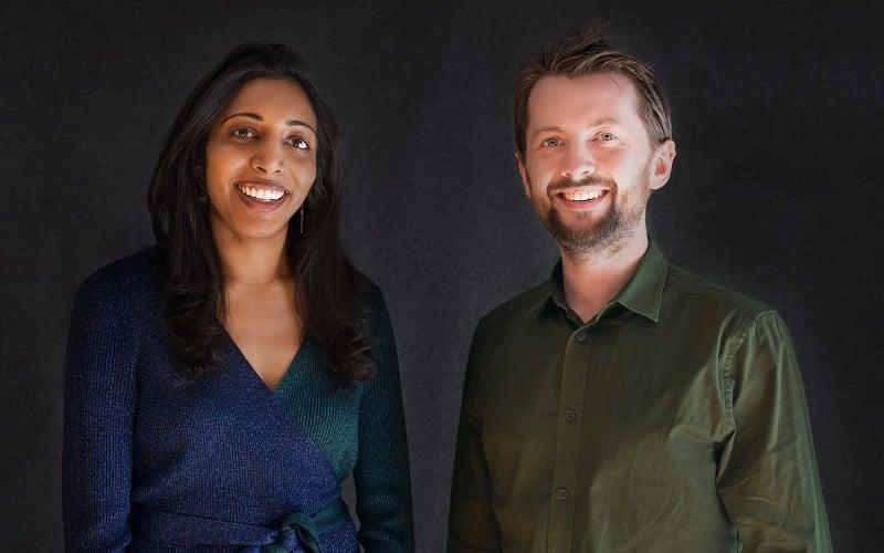 Moonshot co-CEOs Vidhya Ramalingam and Ross Frenett