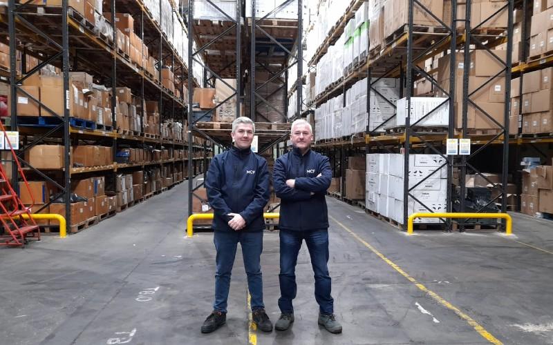 Wayne and Bernie Dullaghan, MCF