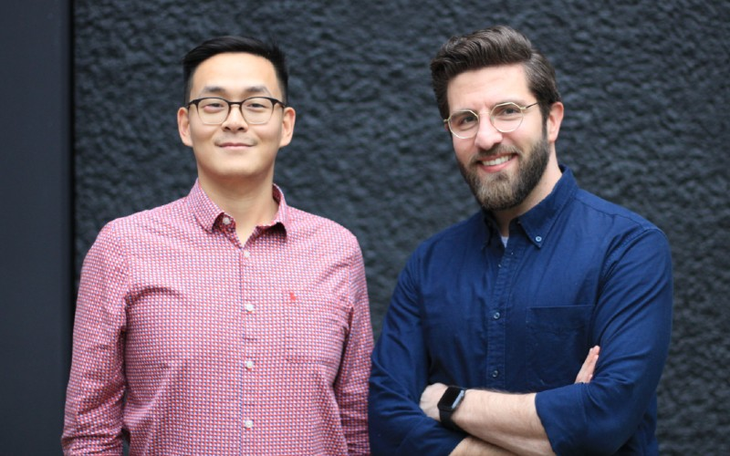 Dr Jing Ouyang and Dr Anas Nader, Patchwork Health co-founders (1)